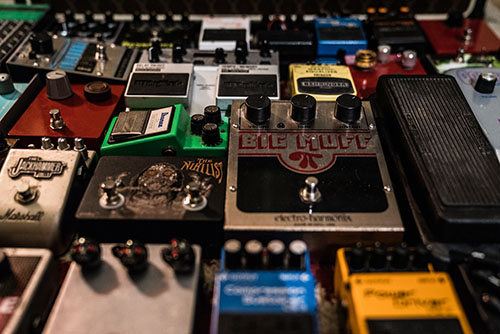 Pedals, Synths and Noise Toys